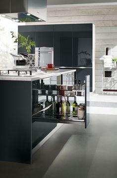 #cucine #cucine #kitchen #kitchens #modern #moderna #gicinque #onda www.gicinque.com/...