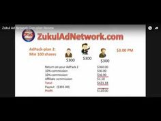 Zukul Ad Network Revshare comp plan review http://youtu.be/2g2a_wN5lt4 Zukul Ad Network Revshare comp plan review shows you the true power of the Zukul Ad Networks earning potential! After the biggest launch of the year online so far and hitting TOP SELLER on Jvzoo within 2 HOURS of launch we expect this to be a fantastic year and beyond! http://ift.tt/1Uz3ypG #guaranteed signups review #get guaranteed signups #free guaranteed signups #best guaranteed signups #zukul #zan #zukul ad network