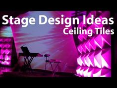 ▶ Church Stage Design Ideas : Ceiling Tiles - YouTube