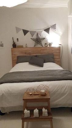 Location vacances maison Larmor Plage: La chambre de notre fille (avec un lit 2 places 140 X 190):