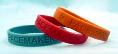 3-pack of Pacemaker Medical Alert Silicone Bands by Medical Alert Bands. $13.35. Light-weight. Effective. Safe for metal and latex allergies. Stylish. Comfortable. PACEMAKER and the medical alert symbols are engraved into the bracelets  Choose up to 3 colors from the pictured options  A stylish and comfortable alternative to metal medical alert bracelets  Actual size of bracelet is 1/2 inch by 8 inches (circumference)  Will not effect latex or metal allergies Security and styl...