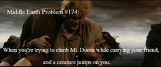 Middle earth problems