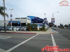 Giant Inflatable Honda Accord