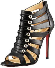 Black Sandals || Christian Louboutin
