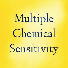 "Check out the study: ""Allergic diseases and multiple chemical sensitivity in korean adults."" http://www.ncbi.nlm.nih.gov/pubmed/25228997 It found that ""People with experience of dwelling in a new house and atopic dermatitis were more at risk of being intolerant to chemicals."""