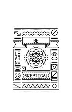 Fun Conceptual Line Posters by Tyler Dale, via Behance