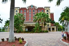 End of summer vacation plans? Check out  Embassy Suites Hotel