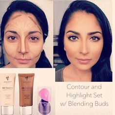Transformation Thursday! Highlight and contour can be easy with youniques duo set with blending buds.   makeupaddictstash.com  #mascara #makeup on #fleek #try #love #younique #beauty #lashes #falsies #mommy #mua #ladies #blogger #youniqueproducts #lashcrack #makeupaddict #stash #tt #highlight #contour #blendingbuds #beforeandafter