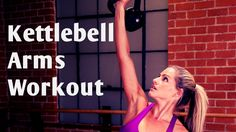 This 15 minute workout uses just one kettlebell to work your entire upper body. … This 15 minute workout uses just one kettlebell to work your entire upper body. Tighten and tone your arms and back all while blasting fat and calories. Kettlebell Abs, Kettlebell Training, Kettlebell Workout Video, Kettlebell Workouts For Women, Kettlebell Challenge, Toning Workouts, Kettlebell Benefits, Trx Workout, Baby Workout