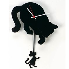 Vinyl Record Projects, Record Crafts, Vinyl Record Clock, Pvc Pipe Crafts, Cat Crafts, Fancy Watches, Wall Watch, Cat Clock, Wall Clock Design