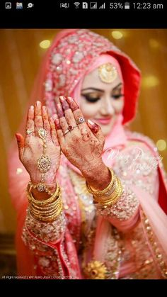 Bridal Hijab Styles, Muslim Wedding Dresses, Indian Bridal Outfits, Muslim Brides, Muslim Couple Photography, Bride Photography, Indian Wedding Photography, Marriage Poses, South Indian Bride Saree