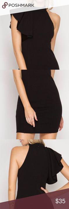 Black One Shoulder Dress Black one shoulder dress Dresses One Shoulder