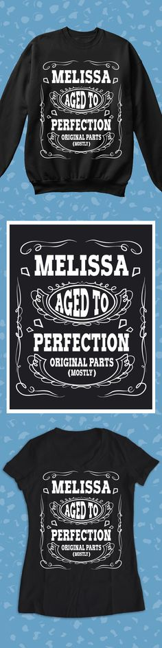 Melissa Aged To Perfection - Limited edition. Order 2 or more for friends/family & save on shipping! Makes a great gift!