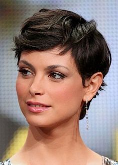 Are you looking for Morena Baccarin hot photos? Here are the best Morena Baccarin Hot Photos, Pictures and Images collection of all time. Curly Pixie Hairstyles, Short Pixie Haircuts, Cute Hairstyles For Short Hair, Curly Hair Styles, Braided Hairstyles, Pixie Wavy Hair, Summer Hairstyles, Emo Haircuts, Casual Hairstyles