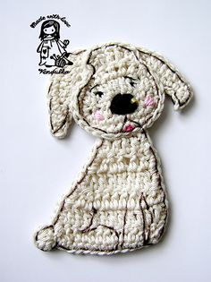 For dogs' lovers - Puppy by Vendula Maderska.  $4.50 for pattern 6/14.