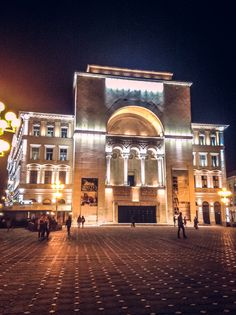 The opera house - Timisoara, Romania