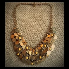 Boho gypsy necklace From the Eva Mendes Collection for NY&Co Jewelry Necklaces