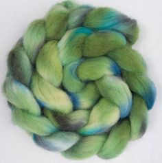 A personal favourite from my Etsy shop https://www.etsy.com/uk/listing/566322455/hand-dyed-roving-exmoor-wool-fibre