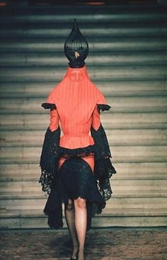 Alexander McQueen for Givenchy Haute Couture F/W 1997 'Eclect Dissect'