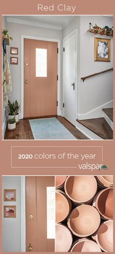 """""""Sunbaked clay brings a rustic elegance inspired by the beauty of the desert and healing qualities of a mineral-rich earth. One of 12 Valspar 2020 Colors of the Year: Canyon Earth at Lowe's Room Colors, House Colors, Home Renovation, Home Remodeling, Hm Deco, Paint Colors For Home, Lowes Paint Colors, Rustic Paint Colors, Valspar Paint Colors"""