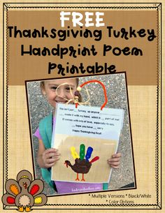 November and Thanksgiving Activities for Kindergarten