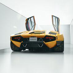 Custom Lamborghini, Lamborghini Concept, Lamborghini Cars, Cool Sports Cars, Sport Cars, Cool Cars, Custom Wheels, Custom Cars, Car Iphone Wallpaper