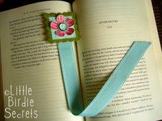 ribbon bookmark from littlebirdiesecrets.blogspot.com