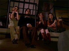 Scooby gang applause (gif)