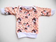 Pullover - Frühchen Pullover - ein Designerstück von KunterbuntBio bei DaWanda