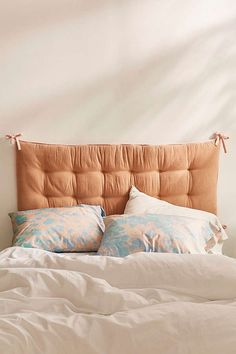 Convertible Flannel Headboard Pillow | Urban Outfitters