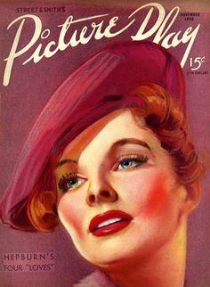 Vintage Movie Magazine Covers | Nostalgic Collage': Vintage Movie Star Magazine Covers, Circa 1930s