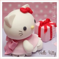 Hello Kitty Topper, I want this for my next cake!!! ;)