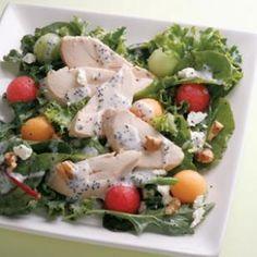 Chicken & Fruit Salad Recipe