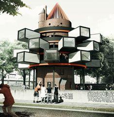 adam wiercinski revitalizes water tower 2.0 in wronki poland