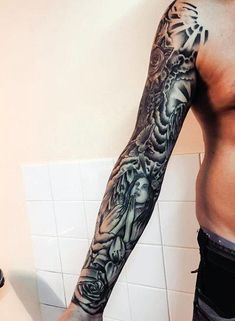 9 Best Clouds Arm Tattoos For Guys Images Cloud Tattoos Arm