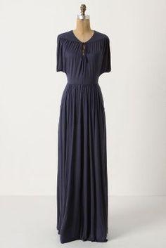 Anthro Maxi Dress