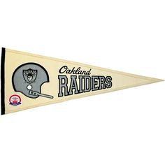 NFL Oakland Raiders AFL 50th Throwback Pennant