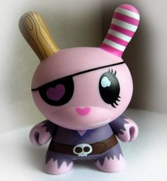 Pirate Dunny (by Clutter Magazine)