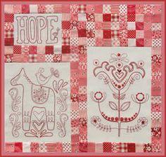 Scandinavian Rose - pattern 6