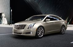 #Cadillac XTS driving around town