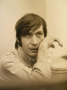 Charlie Watts, drummer of The Rolling Stones