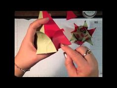 Elf Hat using the Petal Cone and Perfect Pennants Die from Stampin' Up!  http://www.inkandinspirations.com