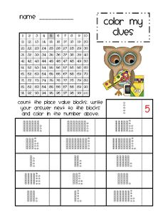Lory's 2nd Grade Skills: Math Stations - Chapter 6 continued...