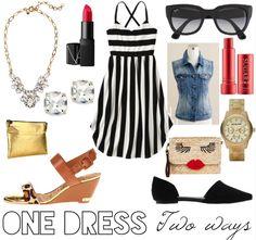 One $25 Dress, Two Ways