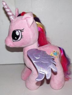 Build A Bear MLP My Little Pony Princess Cadence retired plush stuffed animal #BuildaBear