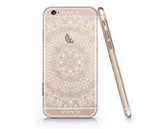 Supertrampshop - White Mandala - Cover Iphone 6 6s Full Protection Durable Hard Plastic Case (VAS339) SUPERTRAMPshop