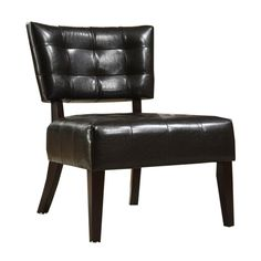 Bolu Leather Armless Chair