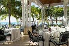 Great Restaurant on the beach overlooking Key West. Can only get here by boat. Sunset Key - Lattitudes