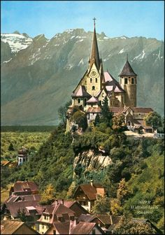 Rankweil Austria, by Places To Travel, Travel Destinations, Moving To Germany, Carinthia, Central Europe, Vintage Travel, Beautiful Places, To Go, Vienna Austria