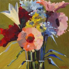 Luscious Bouquet  Lynne Whipple